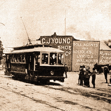 Tickets, please! Adelaide's former tramway network