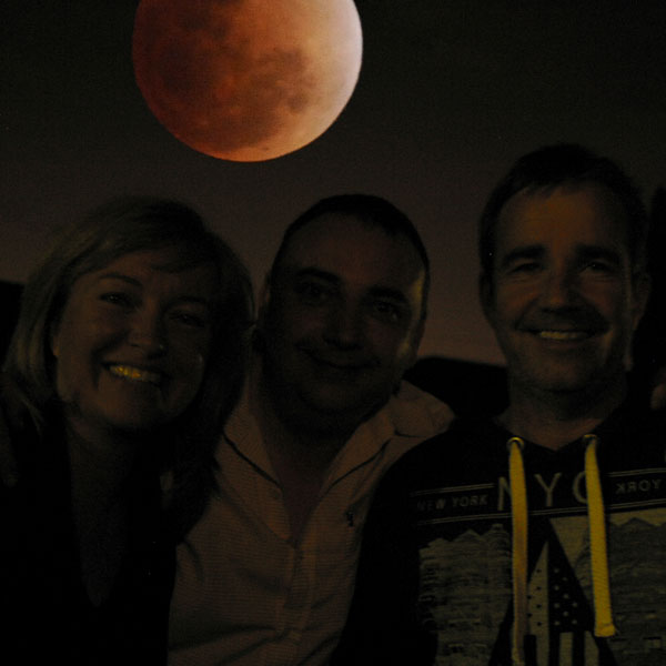 059 – Red moon over Adelaide and burqas below