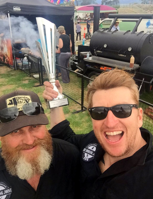 The Smoking Joint Award Winning Barbecue Team on The Adelaide Show Podcast