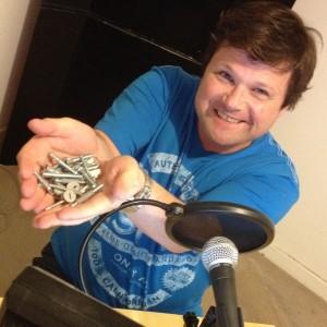 colin-with-screws Photo Steve Davis