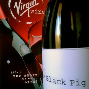 virgin-wines-black-pig-slogan Photo Steve Davis