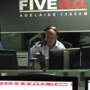 Andrew Reimer radio announce Adelaide FIVEaa Radio on The Adelaide Show Podcast
