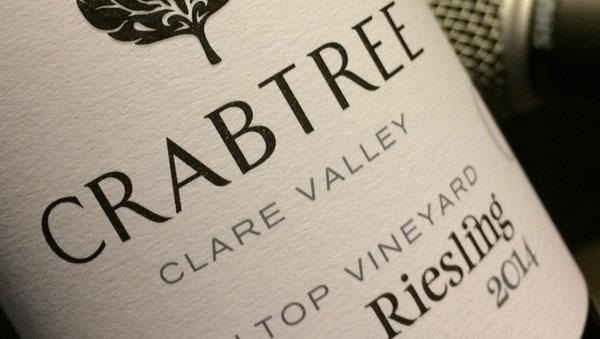 Crabtree 2014 Hilltop Vineyard Riesling