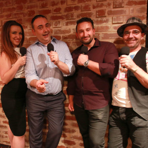 Nona Mona Steve Davis Dante Rossi Nigel Dobson-Keeffe Striptease on The Adelaide Show