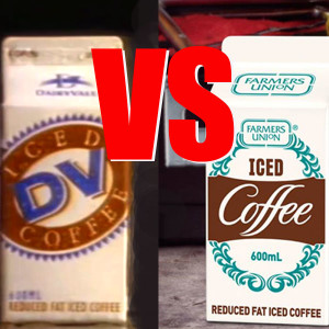 Dairy Vale vs Farmers Union Iced Coffee on The Adelaide Show