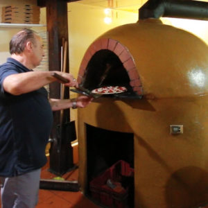 Caffe Belgiorno award winning pizza mount gambier on The Adelaide Show podcast