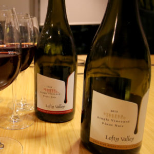Lofty Valley Wines Steeped Pinot Noir tasting notes Adelaide Show Podcast