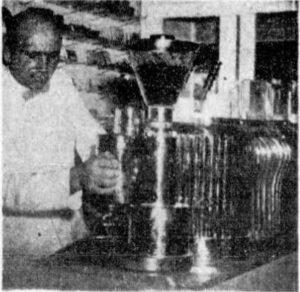 Adelaide's first coffee machine circa 1950s