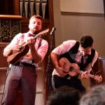 Ukulele Death Squad in action at Elder Hall - The Adelaide Show Podcast review