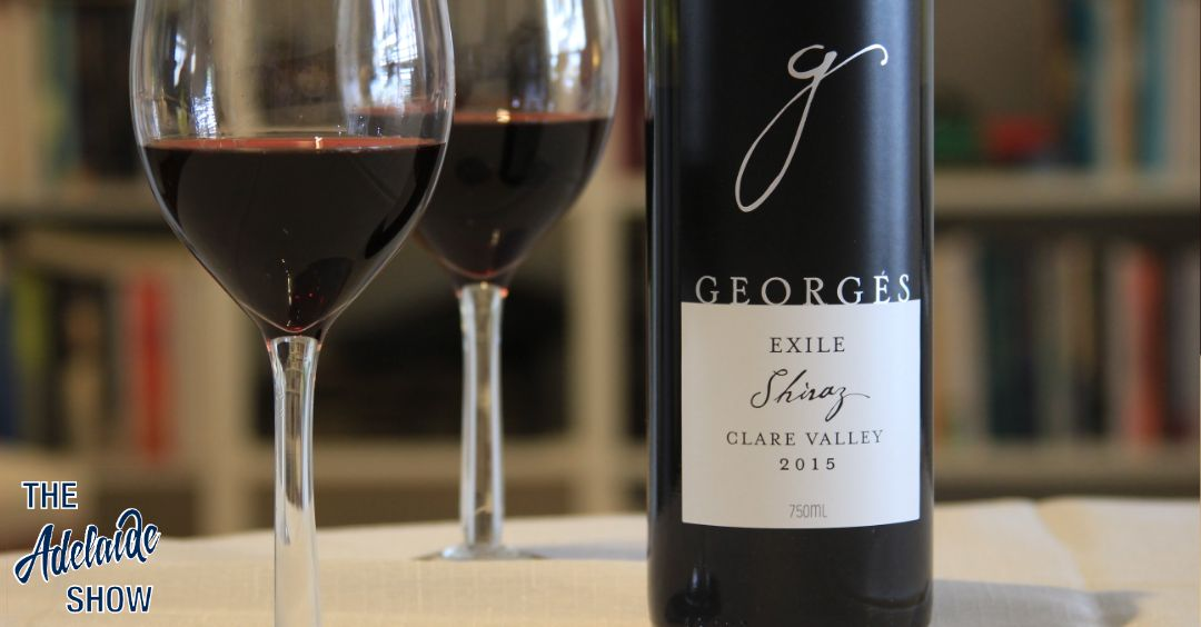 2015 Georges Wines Exile Shiraz Clare Valley